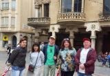 Visita d'un grup de press trip a la ciutat