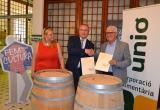 Acord Unió Corporació Alimentària Capital Cultura Catalana Reus 2017