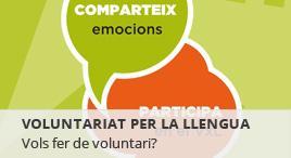 Accedeix a Voluntariat per la llengua
