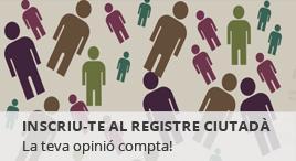 Accedeix a Registre ciutadà