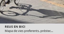 Accedeix a Reus en bici