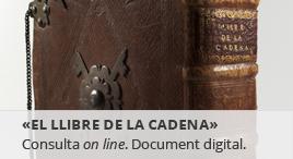 Accedeix a Digitalització del Llibre de la Cadena