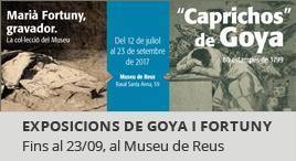 Accedeix a Exposició «Caprichos» de Goya i Marià Fortuny, gravador