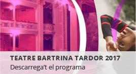 Accedeix a Temporada de tardor al Teatre Bartrina