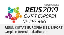 Accedeix a Adhesió a la candidatura de Reus Capital Europea de l'Esport 2019