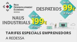 Accedeix a Tarifes especials emprenedors a REDESSA
