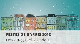 Accedeix a Festes de barris 2018