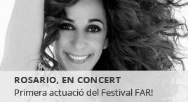 Accedeix a FAR - Festival de les Arts de Reus. Rosario, en concert