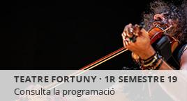 Accedeix a Programació del Teatre Fortuny. 1r sem 2019
