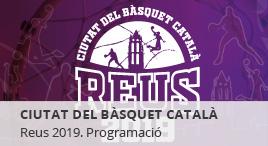 Accedeix a Reus, ciutat del bàsquet català