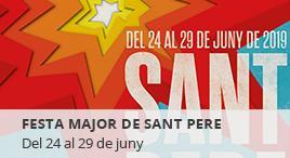 Accedeix a Festa Major Sant Pere 2019