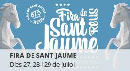 Accedeix a Fira de Sant Jaume 2018