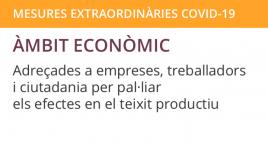 Accedeix a Mesures extraordinàries àmbit econòmic