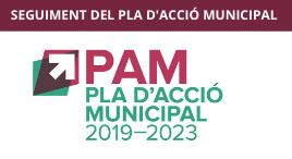 Accedeix a Seguiment del PAM. Pla d'Acció Municipal