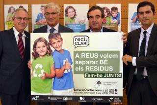 Presentació de la campanya de foment de la recollida selectiva i el reciclatge