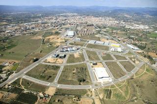 Imatge aèrea de l'àmbit del Tecnoparc, que afecta 156 hectàrees