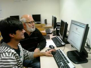 Imatge d'una de les parelles TIC