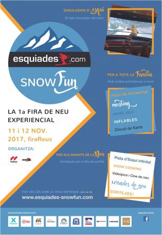Cartell Esquiades SnowFun