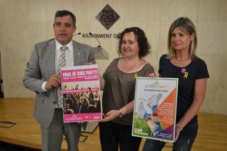 Imatge de la presentació del programa Altersuer 2018 aquest dilluns a la sala de premsa de l'Ajuntament de Reus