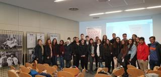 Alumnes de l'IES Baix Camp