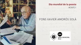 La poesia al fons Xavier Amorós Solà