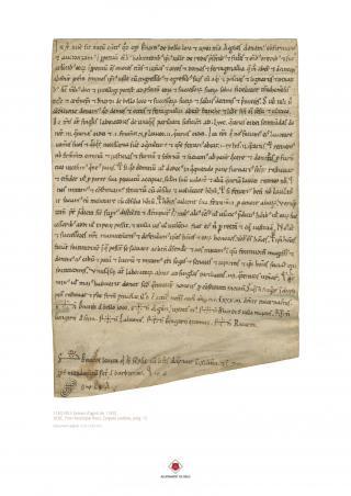 Carta de població i franquesa de Reus 1183 (1183.VIII.5 [nones d'agost de 1183])