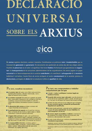 Declaració Universal sobre els Arxius