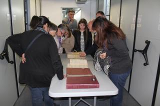 Visita a l'Arxiu de Reus