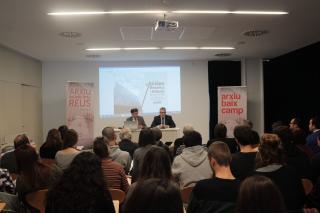I Jornades d'Arxius, Recerca i Difusió. Presentació a càrrec de Jordi Agràs i Joaquim Enrech
