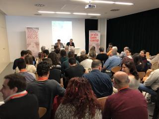 Presentació a càrrec de Jordi Agràs i Joaquim Enrech