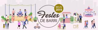 Imatge del banner de les Festes de Barri de Reus 2019