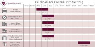 Calendari fiscal 2019