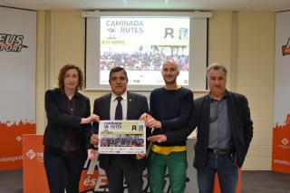 Imatge de la presentació de la Caminada per la Diabetis de Reus - la Pineda del 8 d'abril de 2018