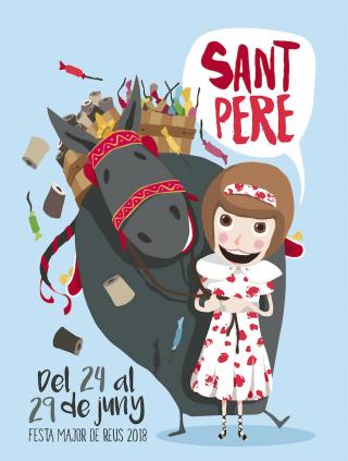 Cartell de Sant Pere 2018
