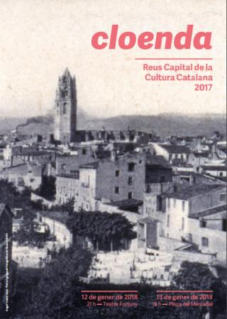Espectacle de cloenda Reus Capital de Cultura Catalana 2017