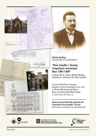 Conferència Pere Caselles a l'Arxiu