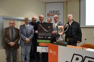 Imatge de la presentació de la fase final de la Copa Intercontinental d'hoquei patins Reus 2017