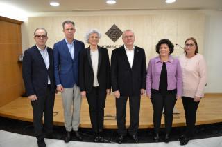 Imatge de la presentació del projecte de nou centre de dia pel tractament de l'Alzheimer a Reus