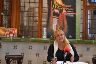 Roda de premsa de presentació de la Nit dels Museus i del Patrimoni 2019