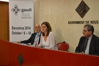 Reus col·labora amb el primer congrés internacional d'investigació sobre Gaudí