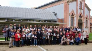Foto de grup autors locals Sant Jordi 2018