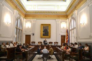 Sessió del ple de l'Ajuntament