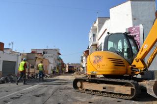 Obres remodelació del carrer Roger de Llúria