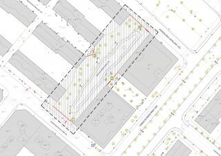 Plànol del tancament de la plaça del Seguici Festiu