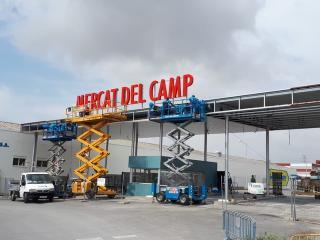 Obres accés Mercat del Camp