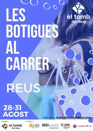 Cartell Botigues al carrer estiu 2019