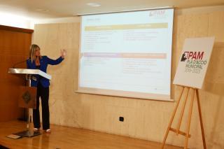 Roda de premsa de presentació de l'elaboració del PAM