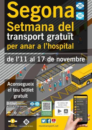 Cartell segona setmana de bis gratuït a l'Hospital