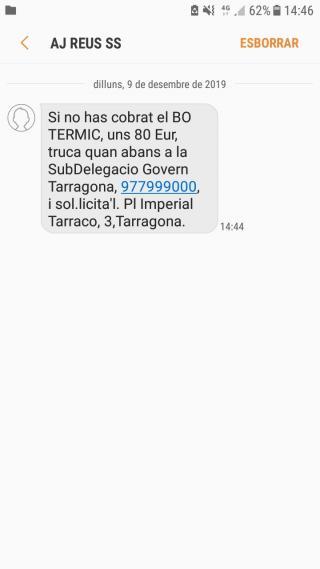 Detall SMS
