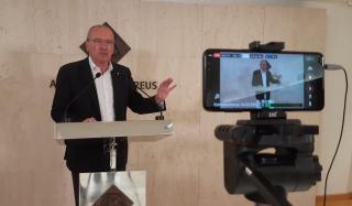 Roda de premsa online de l'alcalde de Reus